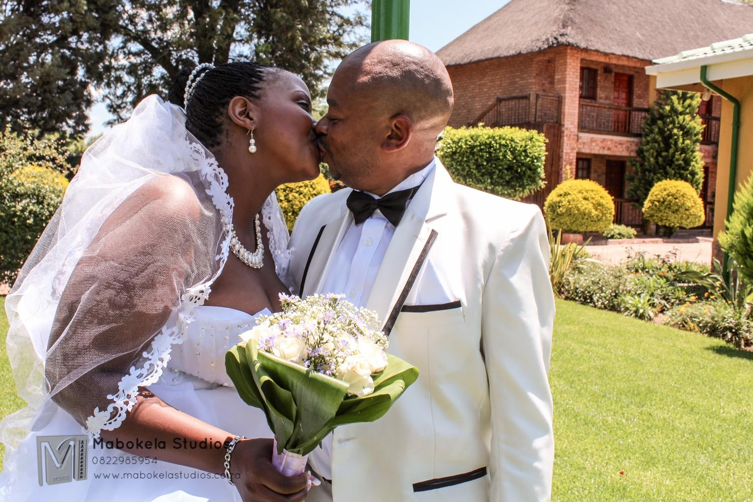 Leketo and Elizabeth Mogale's Wedding