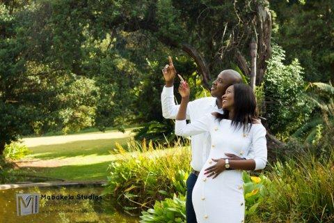 Nhlalala Mkhari and Sesana Masingi