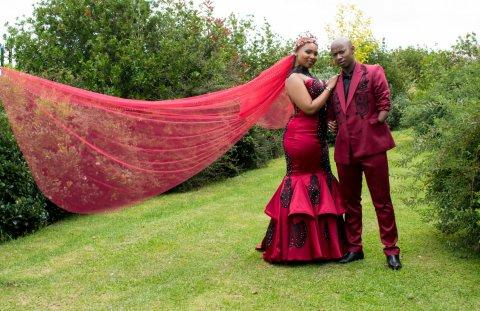 Samkelo Radebe and Slie Nkupho's wedding