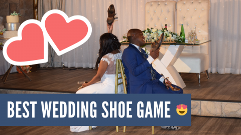 Best Wedding Game - The Shoe Game At Makiti Wedding Venue