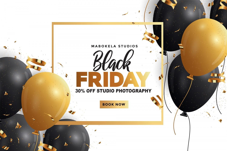 Black Friday Studio Photography Sale - Mabokela Studios