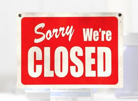 We are closed due to Covid-19