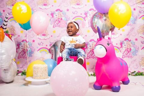 Thoriso's 1st cake smash birthday